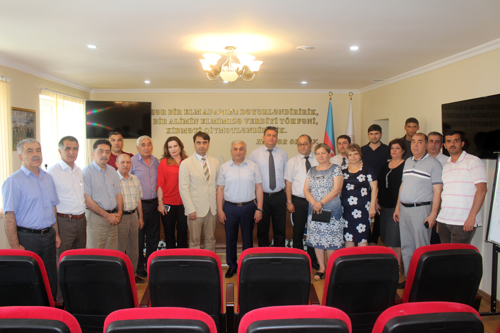 "Project on implementation of ISO 9001:2015, ISO 14001:2015 & OHSAS 18001:2007 international standards in ""Experience-industrial Plant of Azerbaijan National Academy of Sciences"" has been successfully completed"